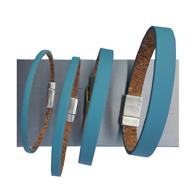 Bracelet bleu simple