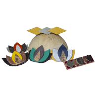 broches lotus et moderne
